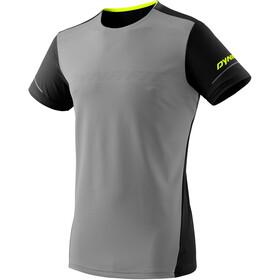Dynafit Alpine Camiseta Manga Corta Hombre, gris/negro